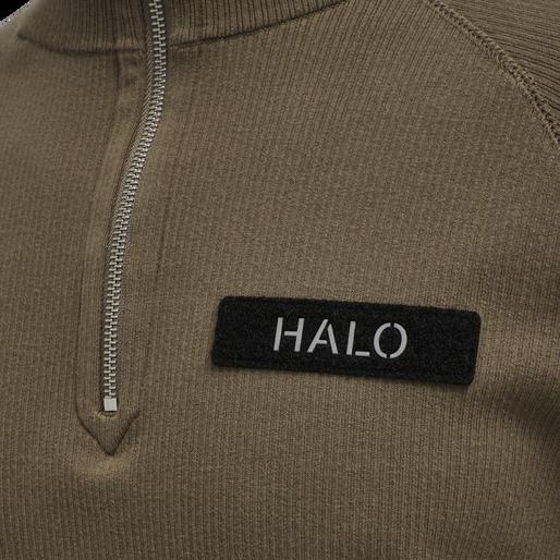 HALO HALFZIP KNIT, VINTAGE BROWN, packshot