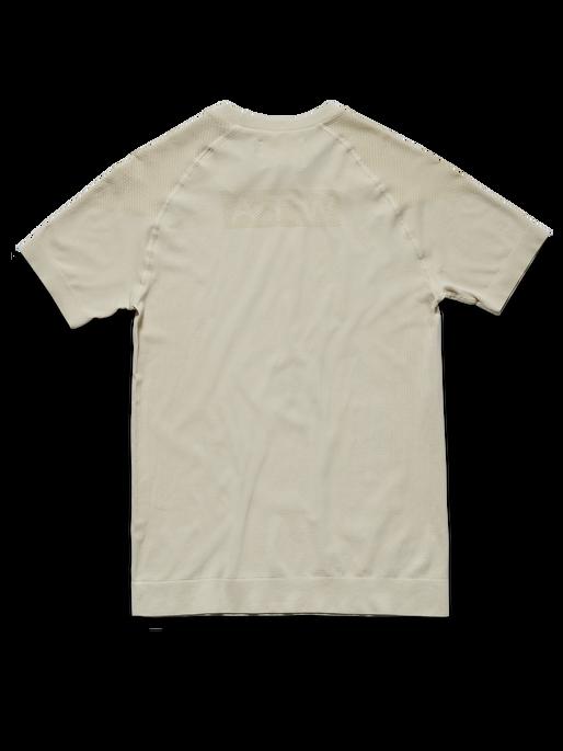 HALO SEAMLESS TEE, BONE WHITE, packshot