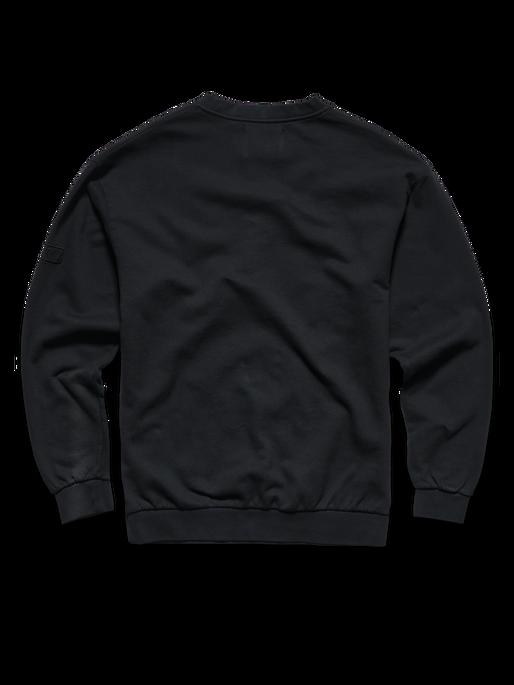 HALO COTTON CREW, BLACK, packshot