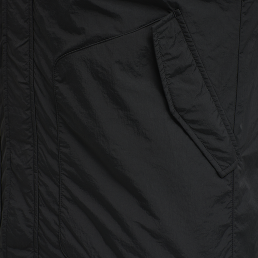 HALO PADDED GILET, BLACK, packshot