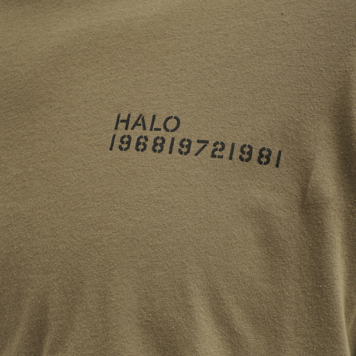 HALO COTTON TEE, VINTAGE BROWN, packshot