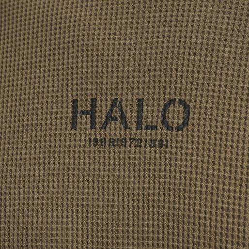HALO WAFFLE LONGSLEEVE, VINTAGE BROWN, packshot